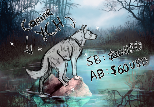 Canine YCH Auction [CLOSED] by JatoWhitz