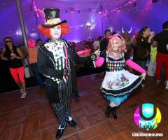 Raving Alice and Hatter At the Party - Full Shot by Faith-NG32