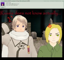 Ask Russia: Question6 - Poland? by MMD-AskRussia