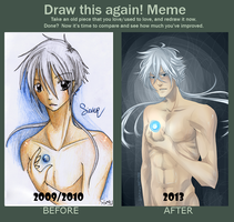 Draw this again! Meme - Silver by SunflowersHero