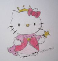 Hello Kitty as a princess by LovingDrawings