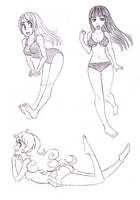 Have Sum Beach Girls by SonicRocksMySocks