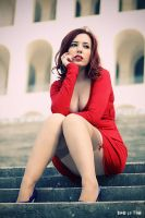 Red Fashon04 by AlizeeVamp