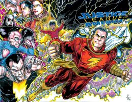 Shazam cover color lowres by ElvinHernandez