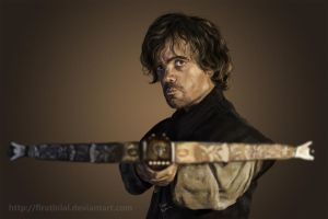 Game of Thrones - Tyrion Lannister by firatbilal