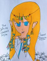 The White Goddess, Hylia by Sweet-Sharotto