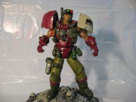 warhammer 40k custom scout  2 by soulbrother73