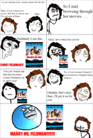 Rage Comic- Awkward Fangirling by GiLaw77
