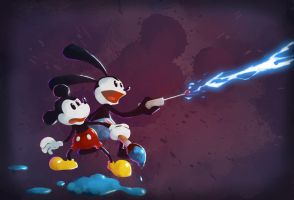 Epic Mickey by Andry-Shango