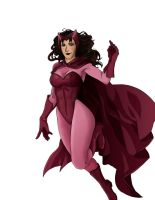 Scarlet Witch by ironspectre