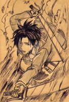 Rivaille-1 by Shinigamichick39