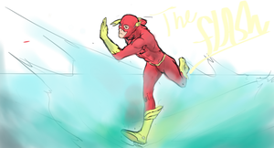 The Flash by Undersomebamboo