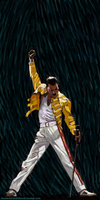 Freddie Mercury by characterundefined