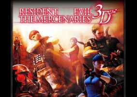 Resident Evil Mercenaries 3DS by X-V-I-I