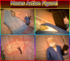 Moses action figure xD by BlackSheepX