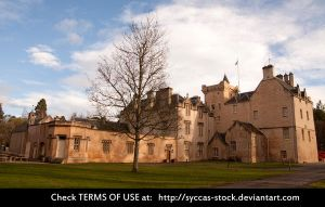 Brodie Castle 2 by syccas-stock