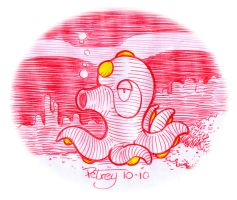 Octillery in RED