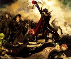 Lelouch leading the people by Sagittarina