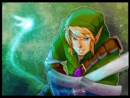 TLOZ-Link and Navi by Goldman-Karee