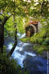 Old watermill at Erkyna river by Elena-Elendim