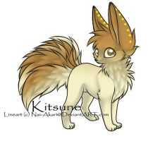 Kitsune Adoptable ~ 17 by BiahAdopts