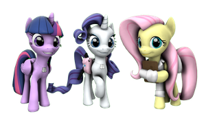 Equestria's Judgment: The main three by FD-Daylight