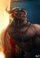 Demon tribe by njay
