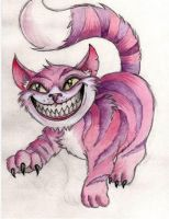 Cheshire Cat by Frosttattoo