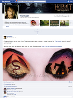 The Hobbit's FB Fan Page featured my work!!! by KatieAlves