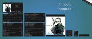 AIMP 3.5 ncmpcpp by Scope10