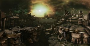 Mass Effect 3 - pano 04 by MichaWha