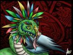 the Feathered serpent by ishchn