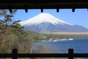 Mont Fuji by lazzaris