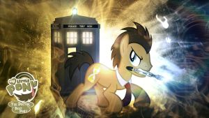 Doctor Whooves/The Doctor is Best Pony Wallpaper by Jackardy