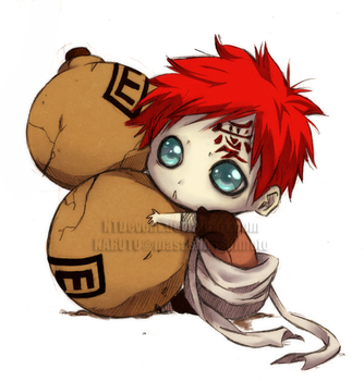 Collab - Gaara by SstormM