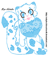 Snow Leopard Adoptable (closed) by Ex-Noah