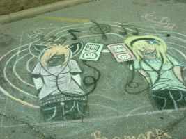 ::Chalk..Contest:: by redspirit-wolf