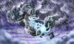 Into the storm - Commission by Fucal