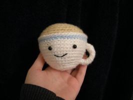 Tea Cup Amigurumi by FrozenBleedingStake