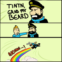 GRAB MY MEME TINTIN by MeganImel