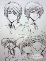 Cheese Lines Before Bed_Shonen-Ai by ChocoDips