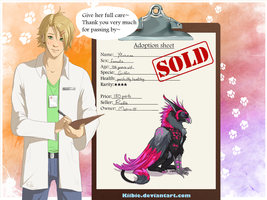 Lewis the vet: Ylvenna -CLOSED- by Kiibie-Adopt