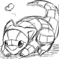 Sandshrew love by Kirimori
