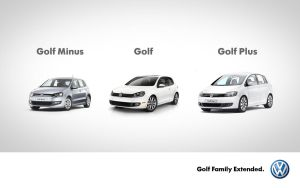 VW Golf Family Extended by 5-G
