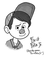 Fix-It Felix Jr. by Toodles3702