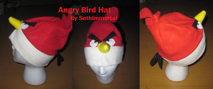 Angry Bird Hat by SethImmortal