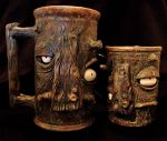 Wooden men mugs by thebigduluth