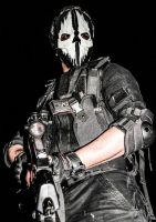 Call Of duty Ghost's Cosplay by SPARTANalexandra