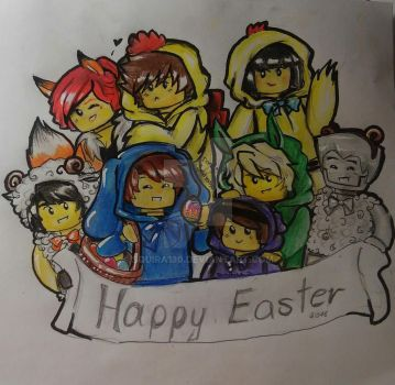 Happy Easter 2016 by Squira130