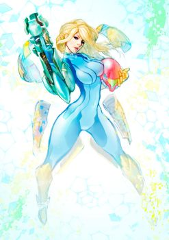 Zero Suit Samus by louten